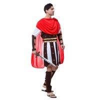 2018 חייל לוחם איטליה רומא עתיק גברים מבוגרים Cosplay תלבושות Hallowmas המפלגה תלבושת ביצועי אספקת שמלת פורים