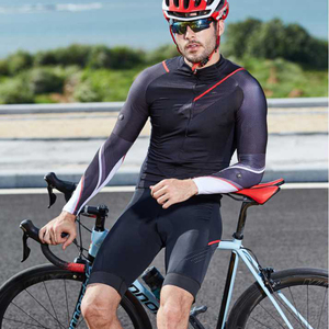 Image 2 - Rionサイクリング男性のジャージ半袖自転車レースダウンヒルトップスレトロ2018 mtbマウンテンバイクモーターtシャツカミーサciclismo