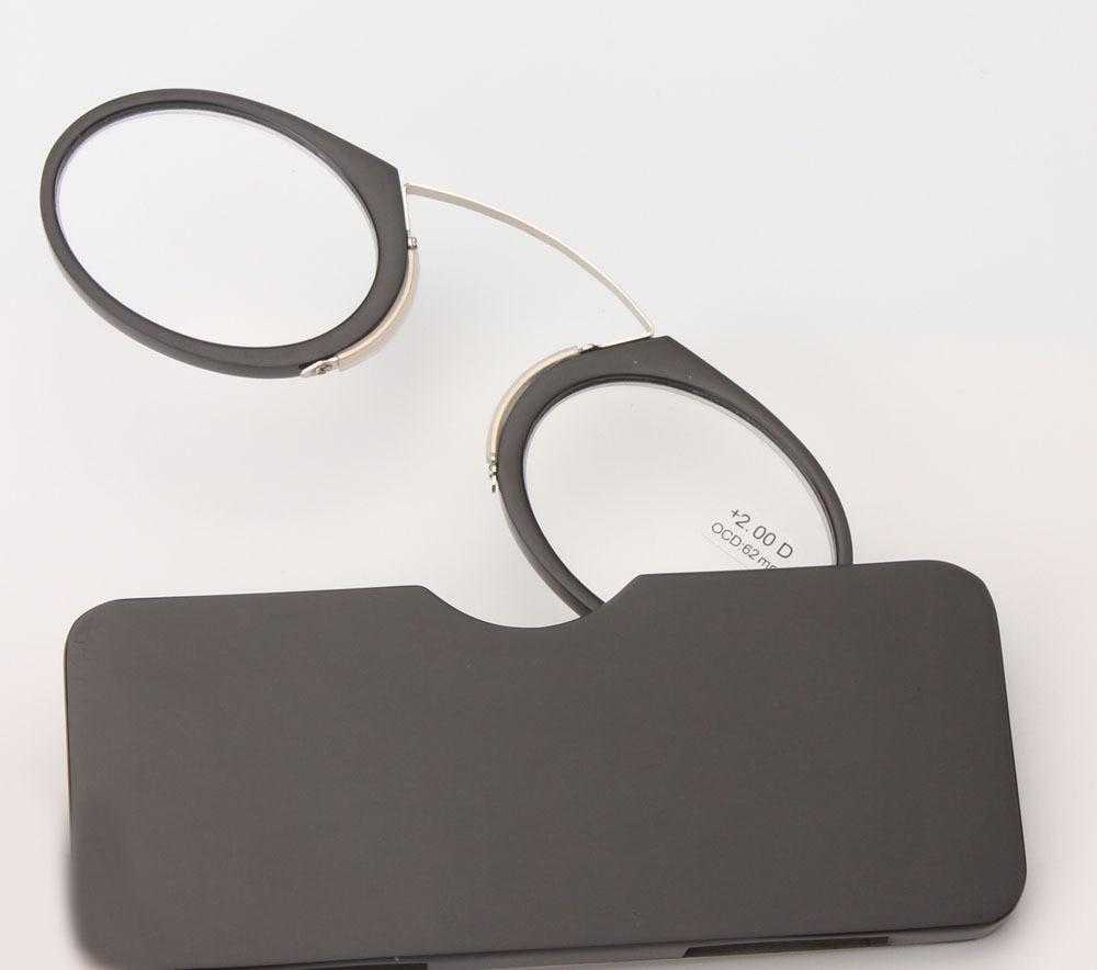 Portativ Klip burun presbyopik eynəklər Case mini presbyopik - Geyim aksesuarları - Fotoqrafiya 4