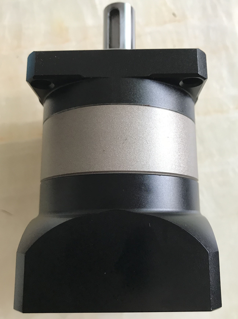 60 planetary gearbox reducer 12 arcmin 2 stage ratio 15:1 to 100:1 for NEMA23 stepper motor input shaft 3/8 inch 9.525mm round flange 60 planetary gear reducer 12 arcmin ratio 15 1 to 100 1 for nema23 stepper motor input shaft 3 8 inch