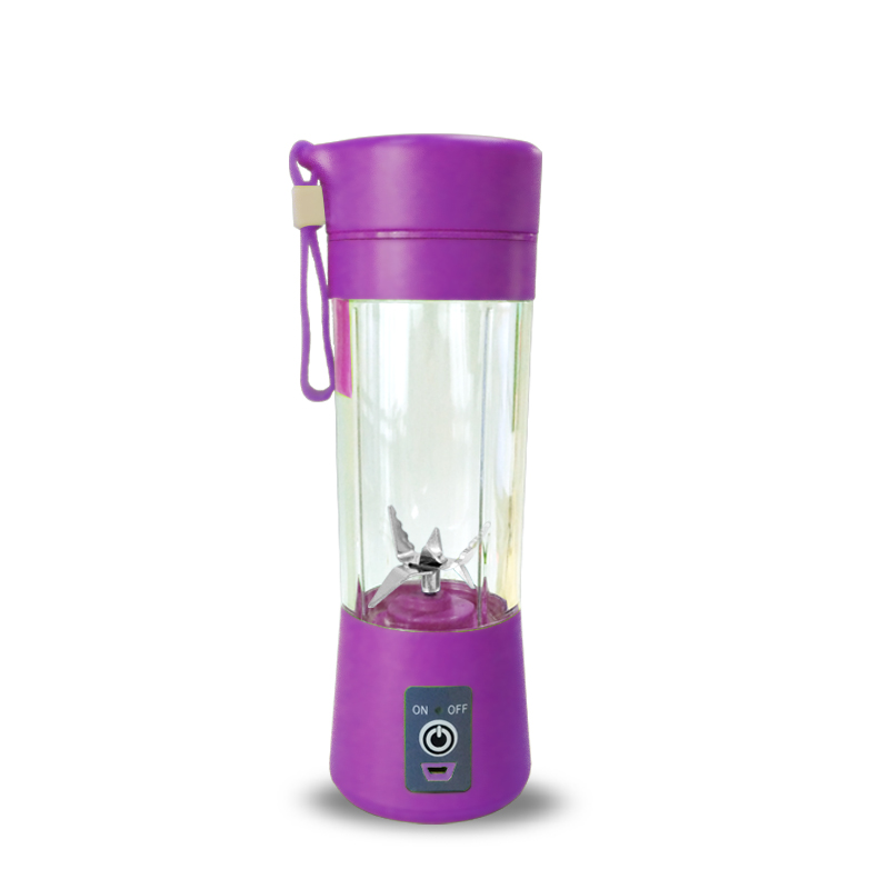 400ml Portable Personal Juice Blender And USB Juicer Cup With Multi-function For Smoothies And Baby Food 5