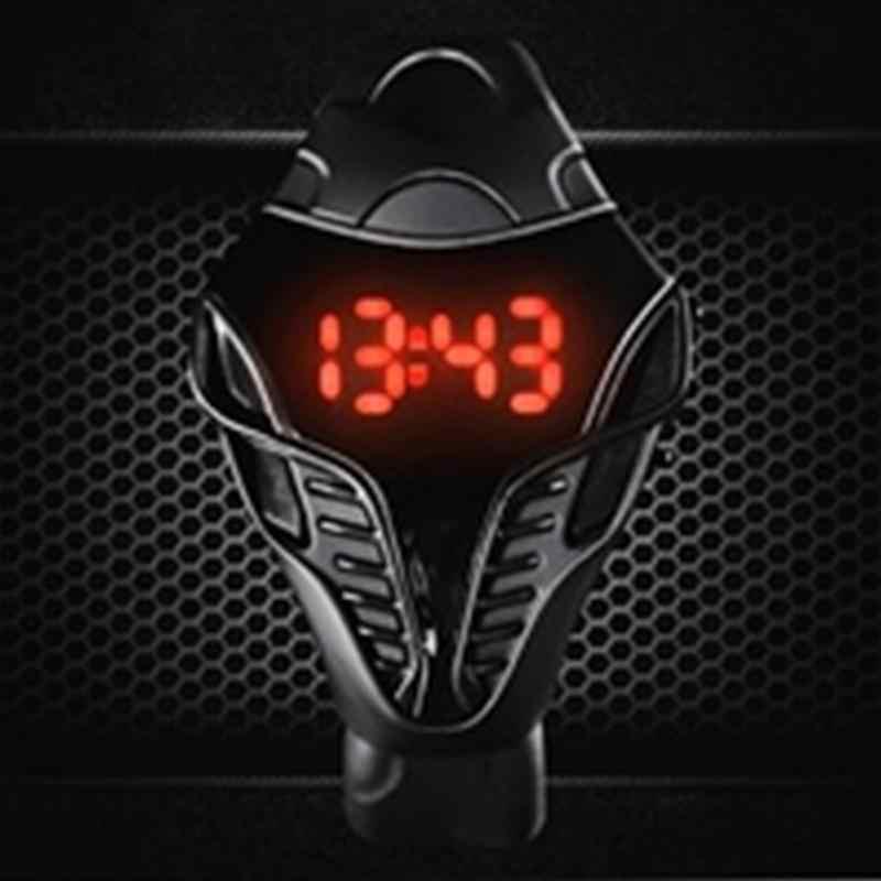 Спортивные светодиодные унисекс часы кобра