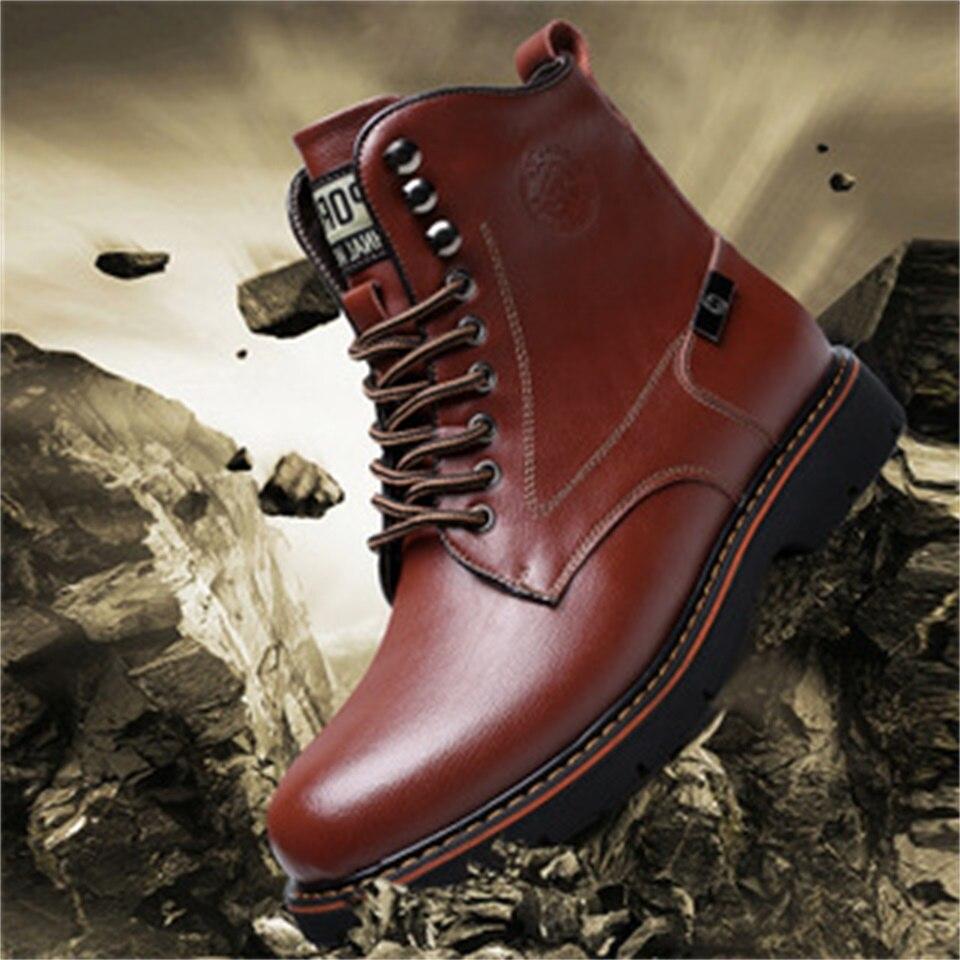 2018 Herbst Und Winter Neue Männer Casual Martin Stiefel In Die Schuhe Europa Und Vereinigten Staaten Hohe Qualität Mode Military Stiefel