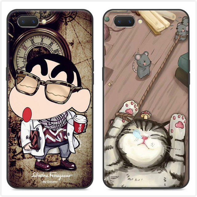 new style ed834 ab026 US $4.98 |For OPPO A5 Case 3D Relief painting Tpu Soft Back Cover Case  Cartoon Silicone Protector shell For OPPO A5 Covers #KO-in Fitted Cases  from ...