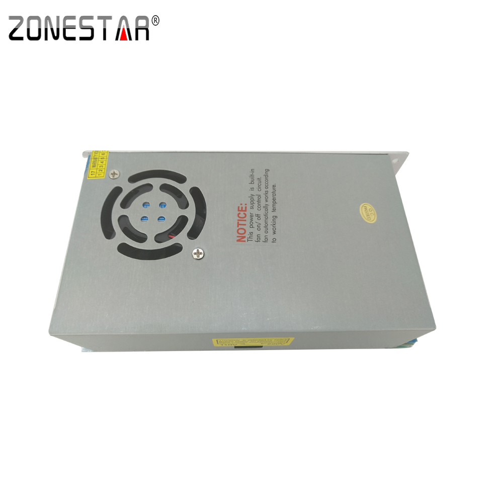 Zonestar Switching power supply for Reprap Prusa i3 Block Power impressora 3D Printer kit Full Metal
