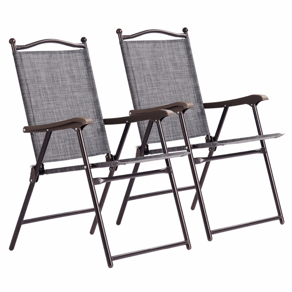 sling back chair herman miller embody alternative giantex set of 2 patio folding chairs camping deck garden beach outdoor furniture op3568 in from on aliexpress com