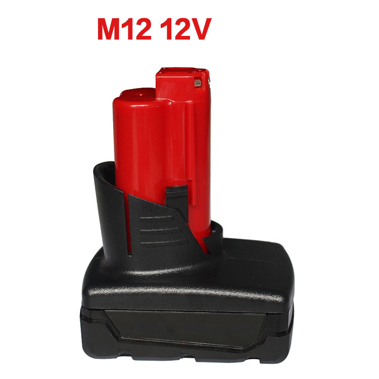M12 Electric Drill Battery Plastic Case PCB Board Circuit Board For Milwaukee 48-11-2411 M12 10.8V Li-ion Battery m18 electric drill battery pcb board charging protection circuit board for milwaukee 48 11 1815 m18 18v 1 5ah 3 0ah battery pack