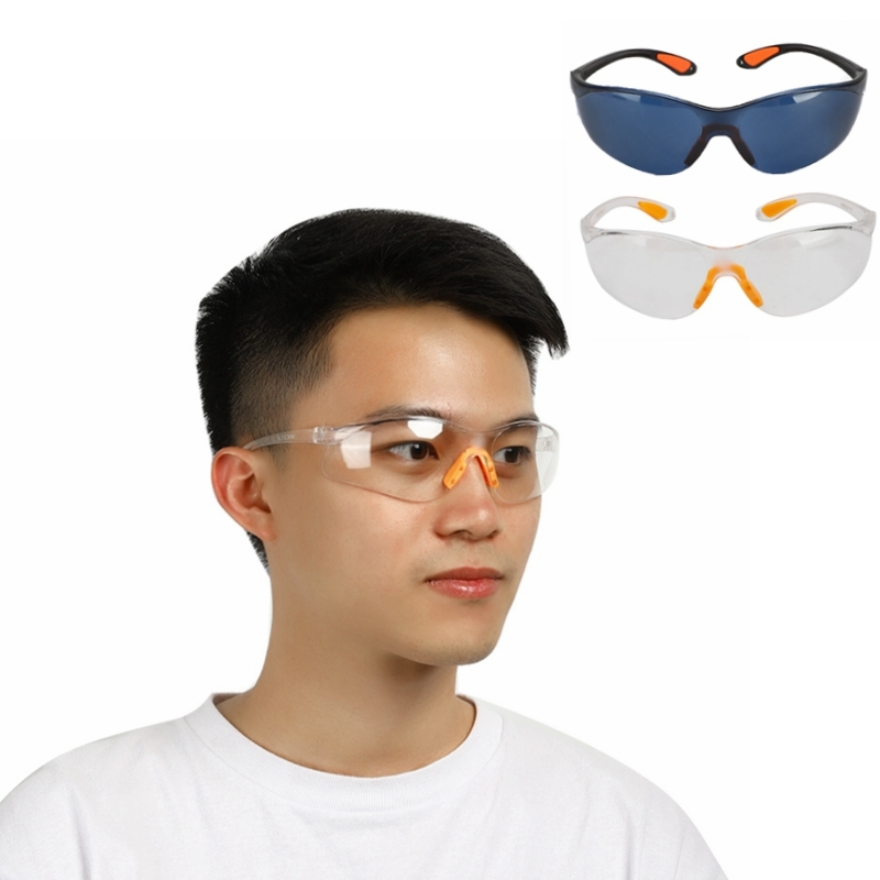 Outdoor Cycling Goggles Bicycle Clear Dust-Proof Anti-wind Glasses Safety Anti-impact Eyewear Splash Protective Glasses