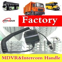 Factory direct vehicle monitoring intercom handle I heard about remote MDVR call controller now released