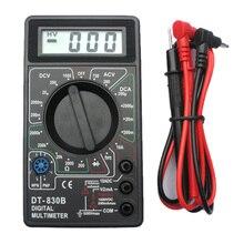 LCD Digital Multimeter DT830B Tester Meter,Voltmeter / Ammeter / Ohmmeter Handheld Tester AC/DC 1000V/10A mini multifunctional portable digital multimeter oscilloscope voltmeter ohmmeter capacitance tester handheld scopemeter