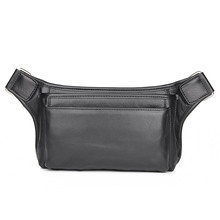 Men Waist Bag Genuine Cow Leather Multi-function Male Funny Pack Designer Classic Style 3016A/3016Q