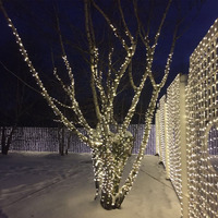 165FT 50M LED Remote Control Copper Wire Fairy Lights Bright Warm White Starry Lights For Christmas