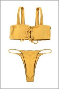 HTB1w5ZAX6zuK1RjSspeq6ziHVXai Sexy Pleated Bikinis 2019 mujer Women Swimsuit Swimwear Women Female Brazilian Bikini Set Beach Wear high cut Bathing Suit 313