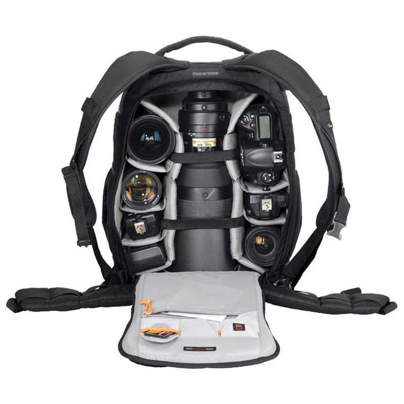 Atacado AW Lowepro Flipside 500 aw FS500 ombros saco da câmera anti-roubo saco da câmera com capa de Chuva