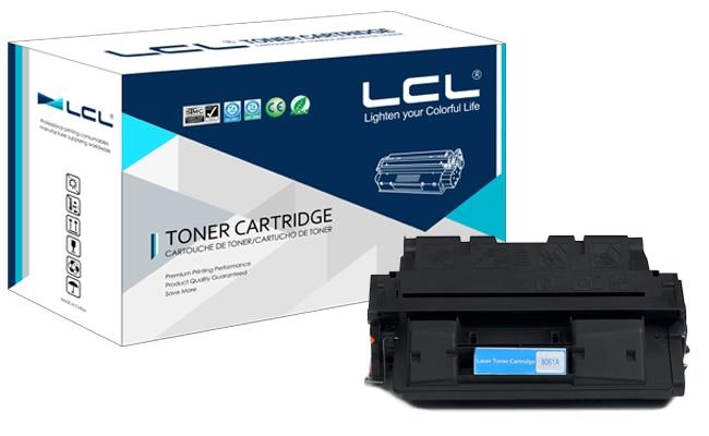Lcl 61x c8061x 61 c8061 8061x c 8061 x (1-pack) schwarz tonerkartusche...