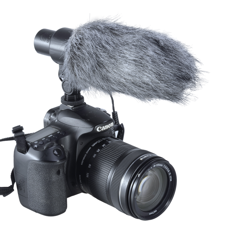 Aputure V-Mic D1 Directional Condenser Shotgun on Camera Microphone for Canon Nikon Sony DSLR DV Camcorder