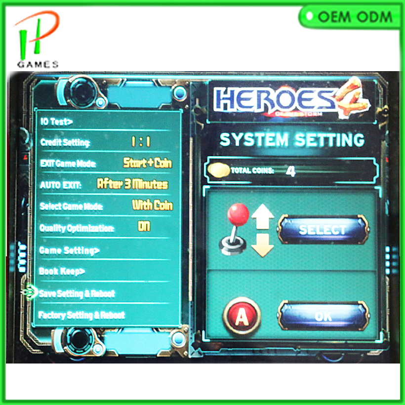 Aliexpress.com : Buy HEROES OF STORM 4 800 in 1 PCB jamma arcade ...