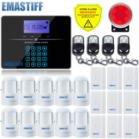 Hot Selling Free Shipping Wholesale Wireless G3B Touch Keypad PSTN GSM Alarm System 433MHz Home Burglar