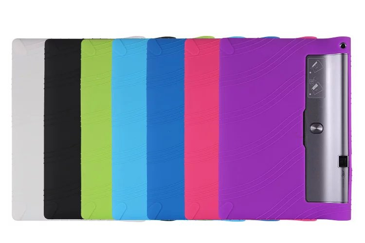 Tab 3 Pro plus YT-X703F 10.1 tablet back cover case For Lenovo yoga tab3 pro 10.1 X90 x90l x90f tablet Silicone TPU Soft Case