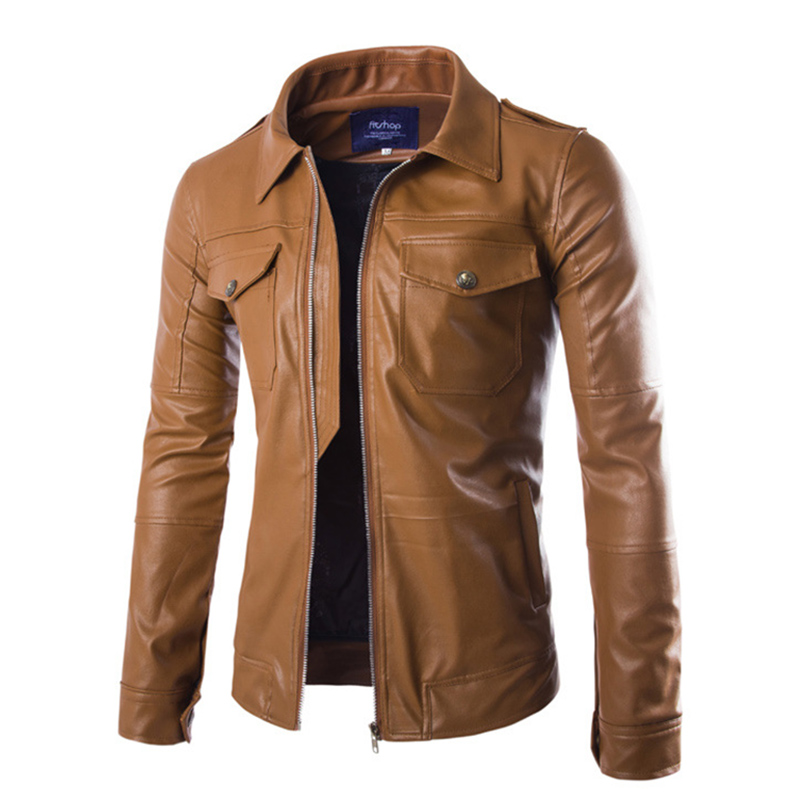 Popular Mens Cool Leather Jackets-Buy Cheap Mens Cool Leather ...