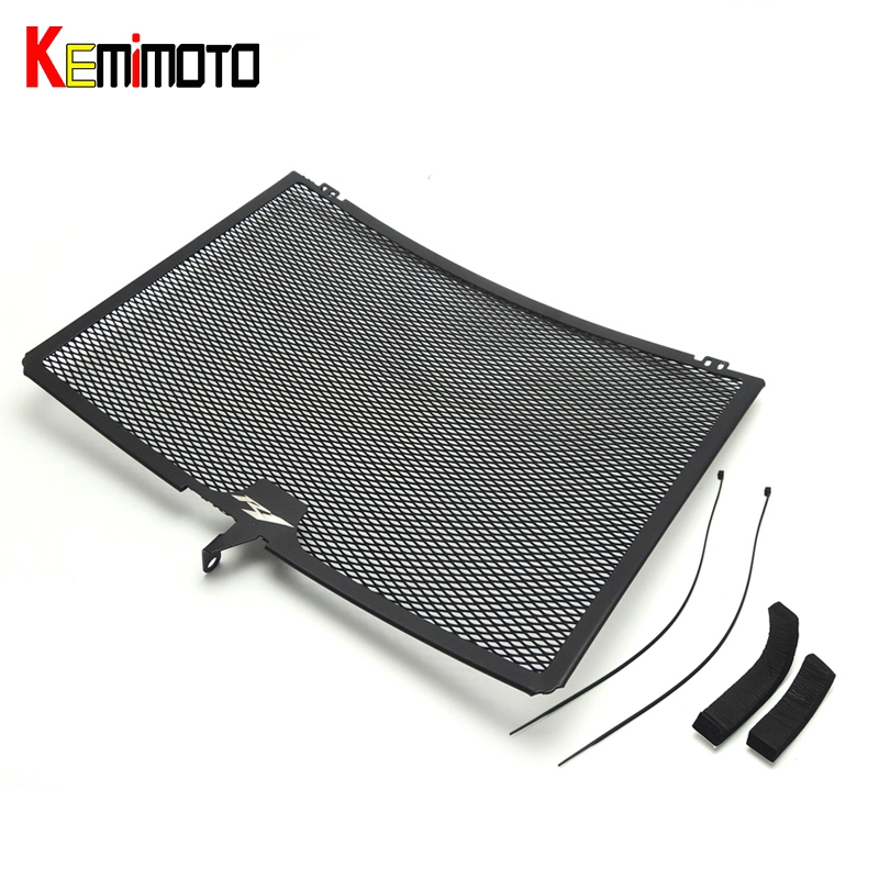 KEMiMOTO Aluminum Radiator Grills Guard Cover for Yamaha YZF-R1 2009 2010 2011 2012 2013 2014 R1 Radiator Oil Cooler Protector motorcycle radiator protective cover grill guard grille protector for kawasaki z1000sx ninja 1000 2011 2012 2013 2014 2015 2016