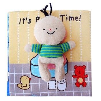 Livre de bébé enfants enfants bambin tissu doux tissu livres calmes ressources d'apprentissage éducatif précoce