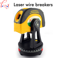 Laser wire line W0374 laser level with 5m*25mm tape measure laser level cross point balance instrument 1pc