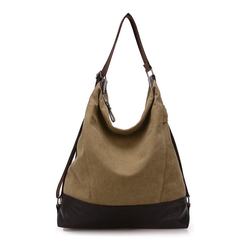 Bolsa Feminina Casual : Fashion canvas messenger bags women handbag shoulder