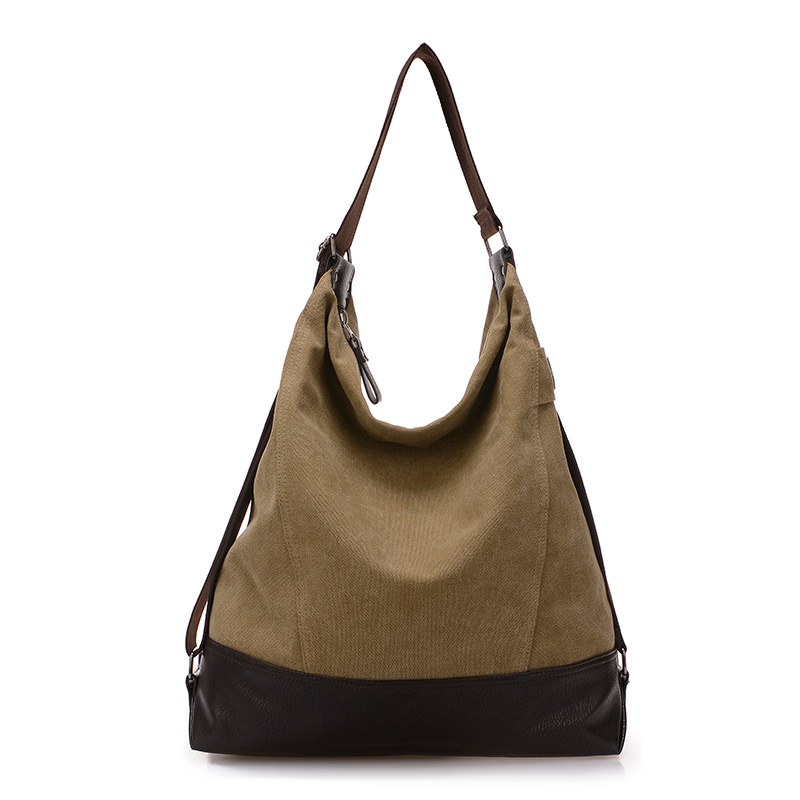 Bolsa De Ombro De Lona Feminina : Moda sacos de lona mensageiro mulheres bolsa