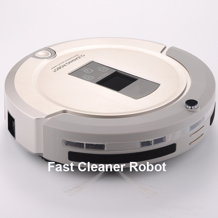 Most Advanced Robot Vacuum Cleaner For Home (Sweep,Vacuum,Mop,Sterilize) With Remote control, LCD touch screen, schedule 2017 most advanced robot vacuum cleaner for home a325 sweep vacuum mop sterilize schedule intelligent home cleaner