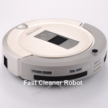 Most Advanced Robot Vacuum Cleaner For Home Sweep Vacuum Mop Sterilize With Remote control LCD