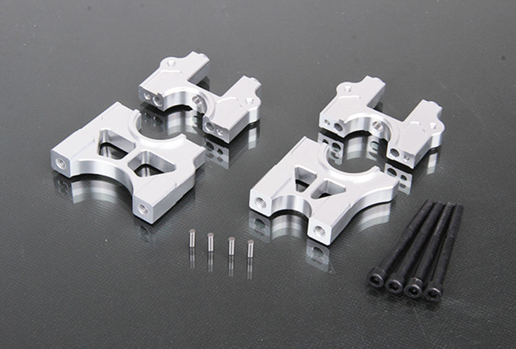 CNC Alloy Metal Differential Diff Split Rack Stents Support Kit for 1/5 Losi 5ive-T Parts Rovan LT DDT 5T Rc Gas Car Parts fid split type central differential fixed seat for losi 5ive t free shipping