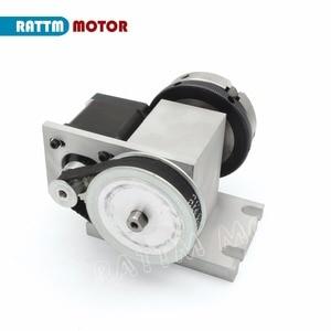 Image 5 - EU K11 65mm 3 klauwplaat 65mm 4th As & Losse Kop CNC scheidslijn hoofd/Rotatie As voor CNC router houtbewerking graveermachine