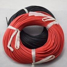 20 м Калибр силиконовый провод гибкий многожильный медные кабели для RC проводки 12awg 14awg 16awg 18awg 20awg AWG
