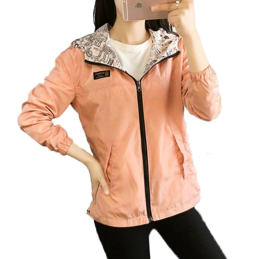 Harajuku Spring   Basic     Jackets   Autumn Casaco Feminino Modis Women   Jackets   Befree Chaquetas Mujer Zipper Hooded Coat Women 2018
