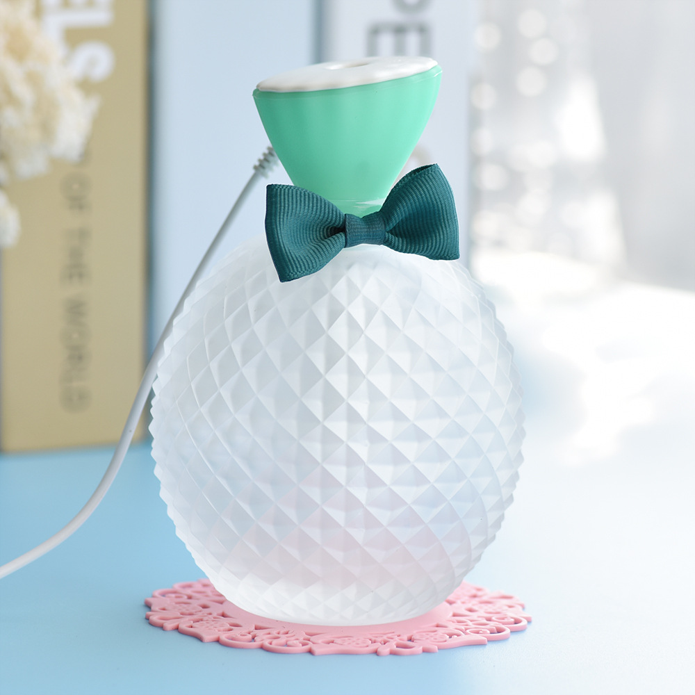 air humidifier Creative crystal bottle ultrasonic air humidifier aromatherapy usb air humidifier floor style humidifier home mute air conditioning bedroom high capacity wetness creative air aromatherapy machine fog volume