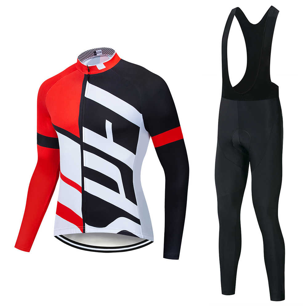2019 Specializeding long sleeve Cycling jersey Set bib pants ropa ciclismo bicycle clothing MTB bike jersey Uniform Men clothes