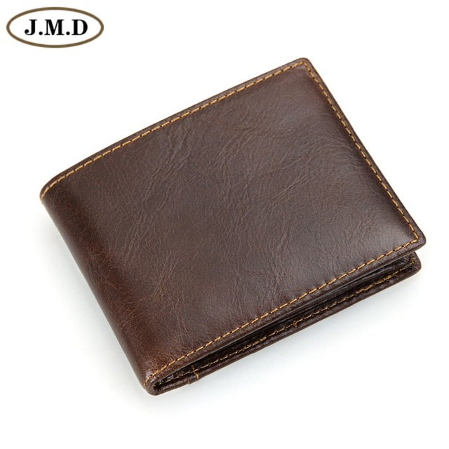 Men's RFID Blocking Leather Wallet Card Case Slim Super Thin 8 Card Slots Purse R-8108Q