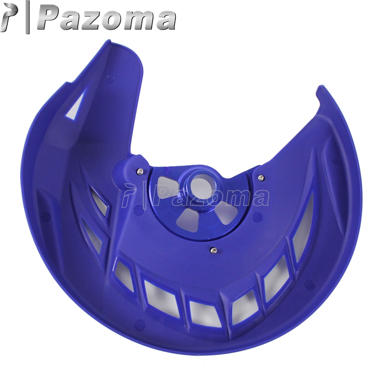 Funda protectora para disco de freno delantero Yamaha YZ250F YZ450F YZ250FX YZ450FX color blanco