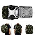 Multifunctional Backpack Camouflage Shoulder Bag Carry Case Backpack For DJI Phantom 4 Drone