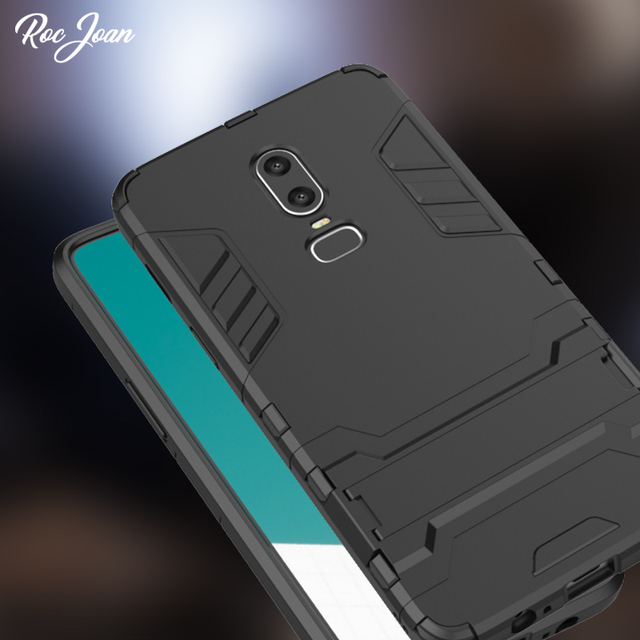 promo code 2bbac 88581 US $3.12 20% OFF|Aliexpress.com : Buy Roc Joan Iron Man Armor Case for  Oneplus 6T / 6 / 5T Anti Shock Stand Hard PC Soft Silicone Back Cover Coque  ...