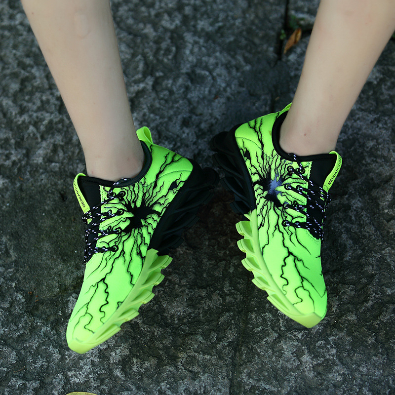 2019 Men 39 s Spring Summer Net Leisure Shoes Youth Trend Running Shoes Korean Version Breathable Student Camouflage Shoes in Men 39 s Casual Shoes from Shoes