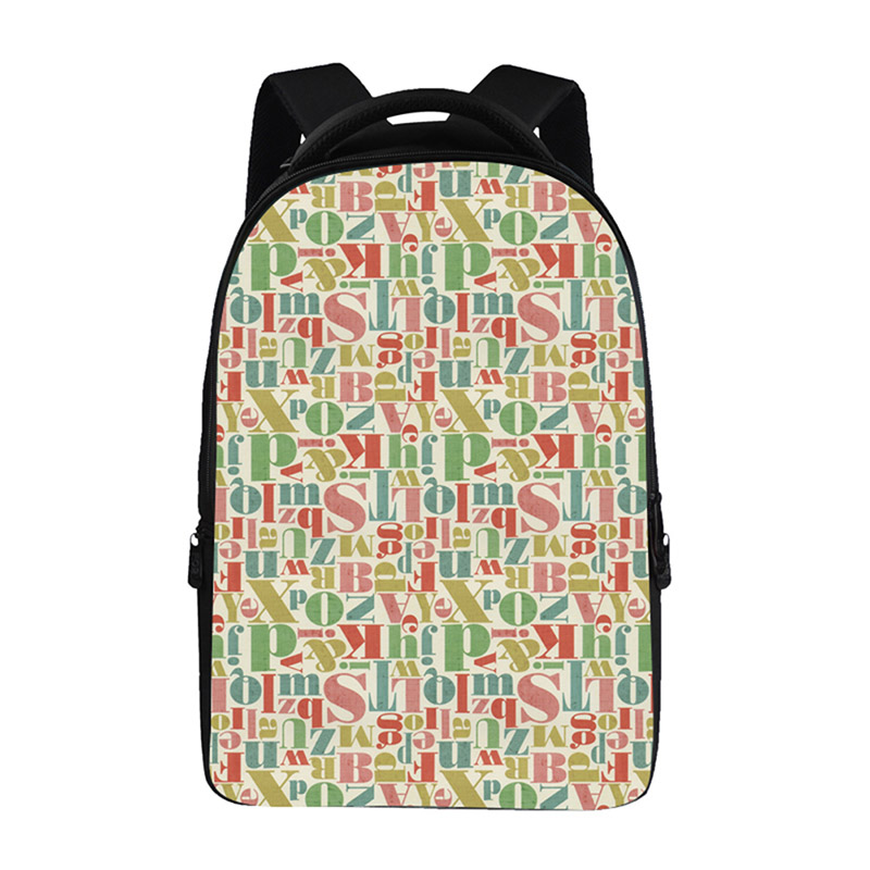 2007fd76f734 US $41.99 |Pretty rules pattern Backpacks For Teens Computer Bag Fashion  School Bags For Primary Schoolbags Fashion Backpack Best Book Bag-in ...