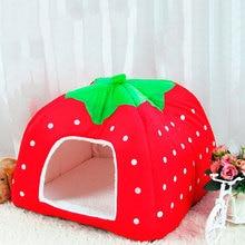 Strawberry Shaped Sponge Pet House