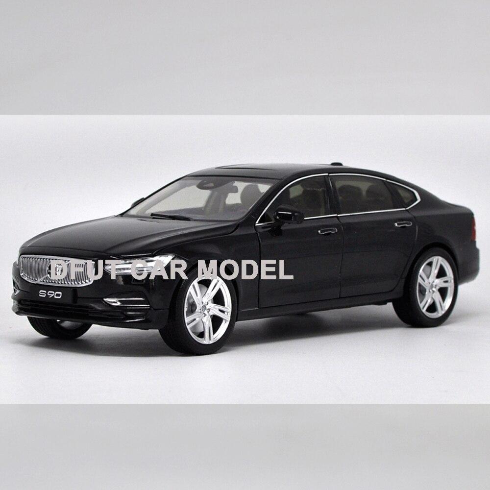 1:18 échelle alliage tirer arrière jouets véhicules série S90 voiture modèle de voitures jouets pour enfants Original autorisé authentique enfants jouet