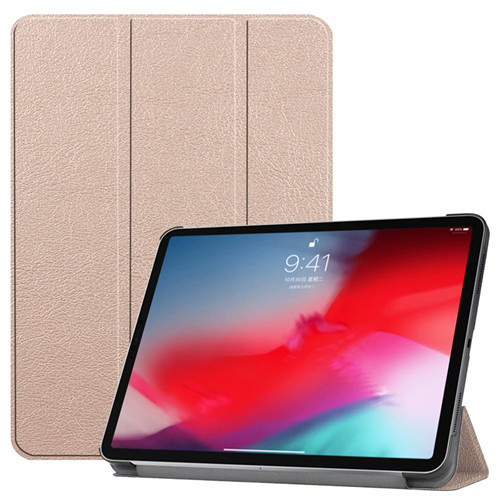 gold iPad Pro3 11 2018 smart case with different patterns