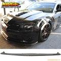 FOR 14-15 Chevy Camaro SS Only Front Bumper Lip Spoiler Splitter - Carbon Fiber