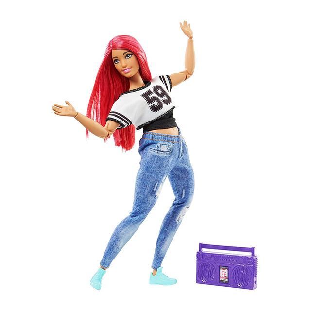 Sport Style Good Quality Plastic Barbie Doll