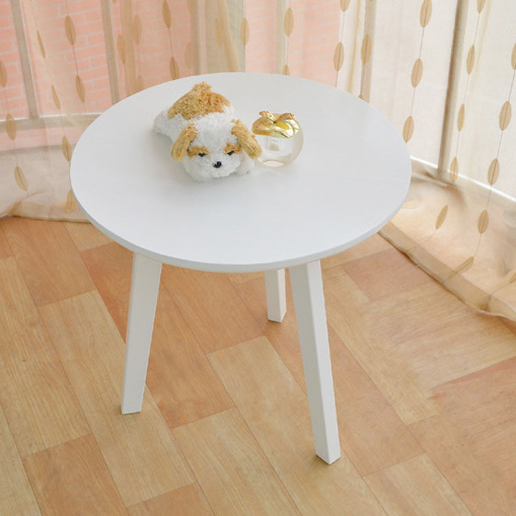 Delicieux Wholesale Outlet Nordic Pure White Oak Wood Coffee Table Small Round Cafe  Tables Minimalist Dining Tables In Dining Tables From Furniture On  Aliexpress.com ...