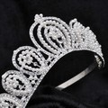 Bridal Tiara Rhinestone Crystal Hair Crown Vintage Wedding Head Jewelry Wedding Accessories jewelry forehead headbands Frontlet